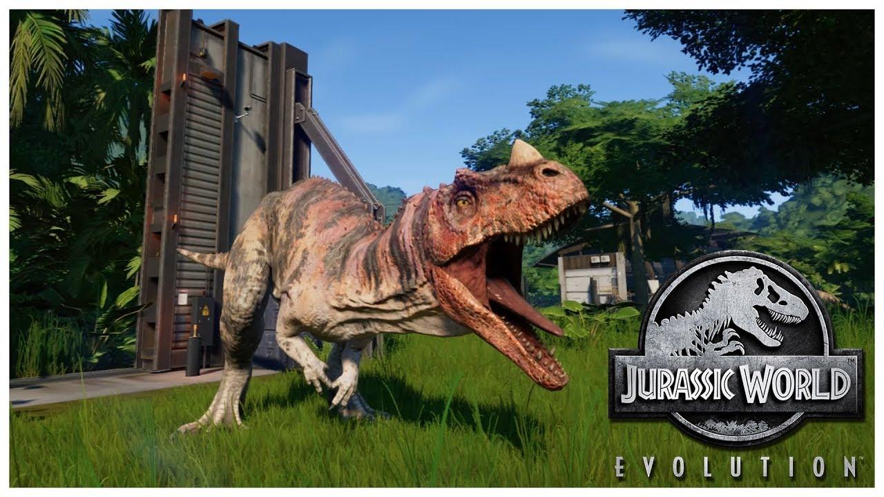 Системные требования игры Jurassic World Evolution