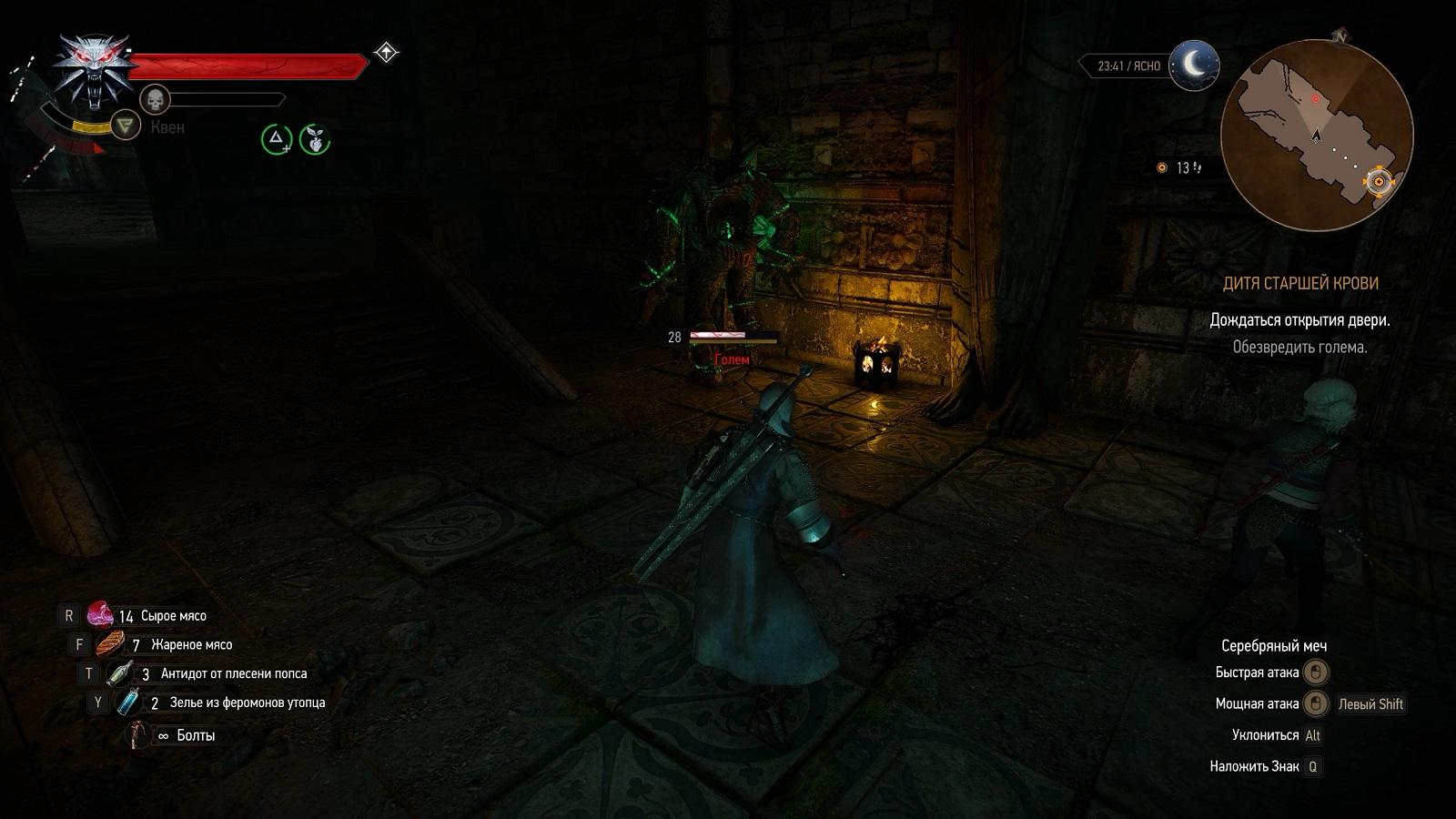 Ведьмак 3 Дикая охота Задание Дитя старшей крови