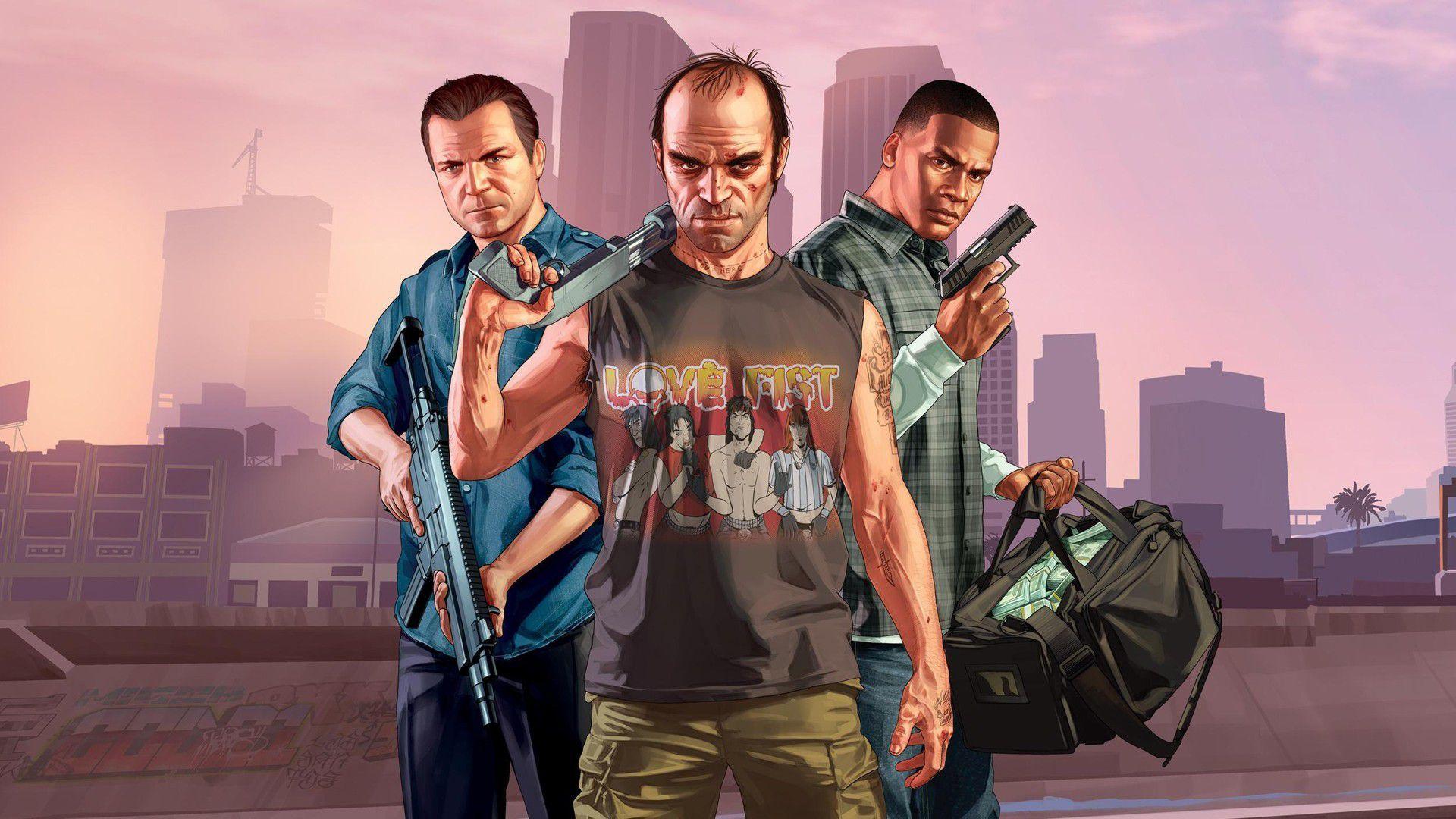 Чит коды для игры GTA 5